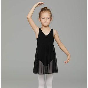 Girls Black Ballerina Dress Size 6-7